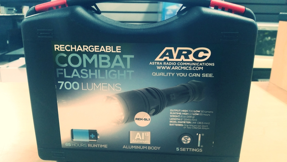 ARC Combat Flashlight