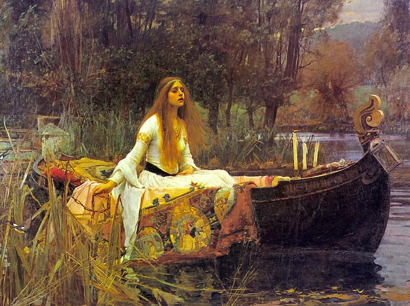 John William Waterhouse, The Lady of Shalott 1888