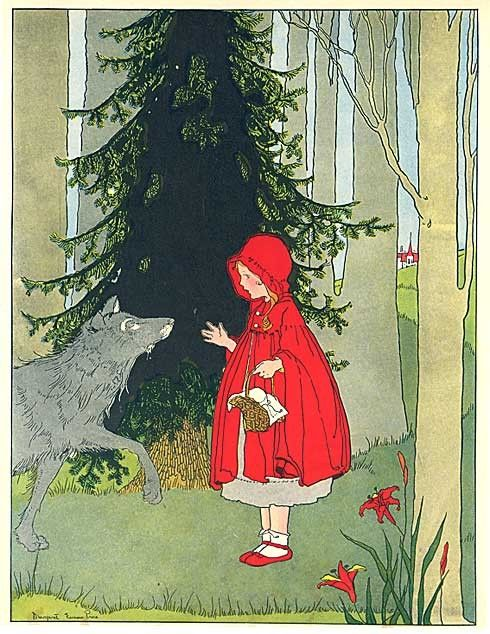 Margaret Evans Price,  Little Red Riding Hood  (1930)