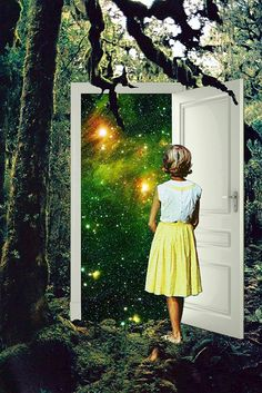 "Eugenia Loli, ""A Portal in the Woods"""