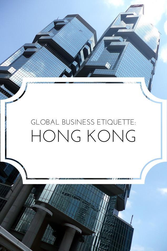 Hong Kong business etiquette