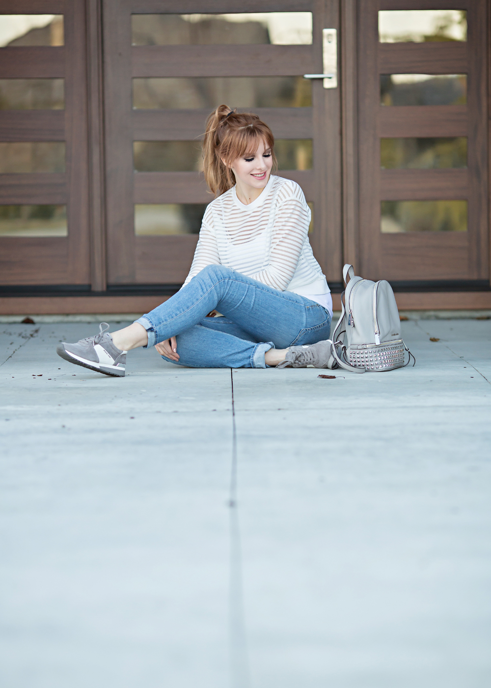 REdhead fashion casual cool style
