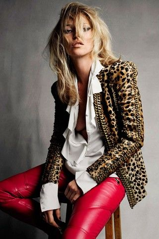 Kate Moss via Pinterest