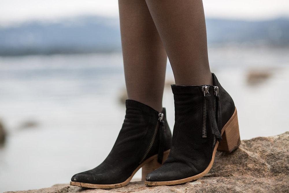 Seychelles black boots