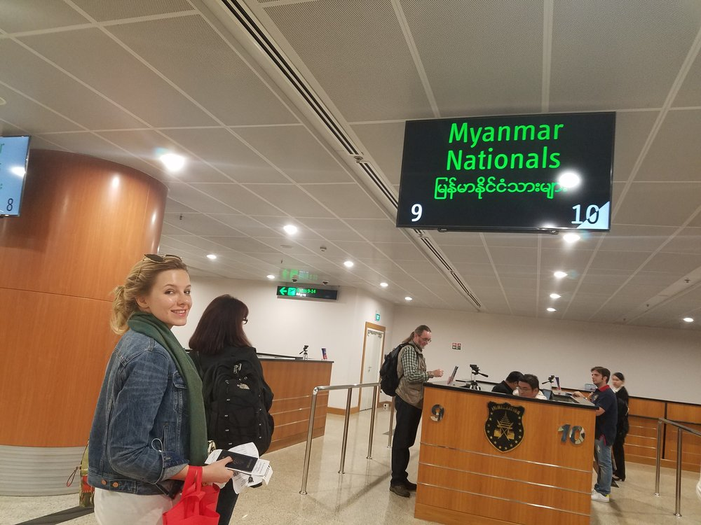 Myanmar Customs