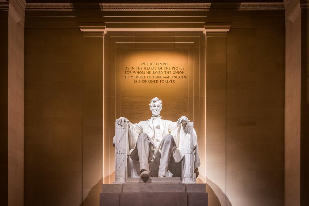 Lincoln Memorial, Washington DC - USA