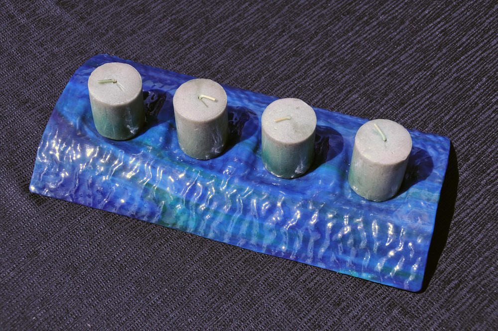 Blue 4 Candle Dish.jpg