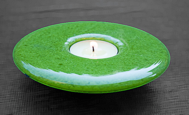 Candle in Green Dish (1 of 1).jpg