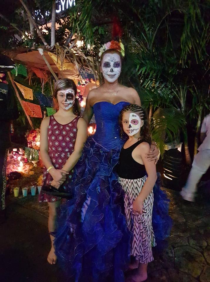 Michelle Gammond - Day of the Dead Festival - Playa Del Carmen