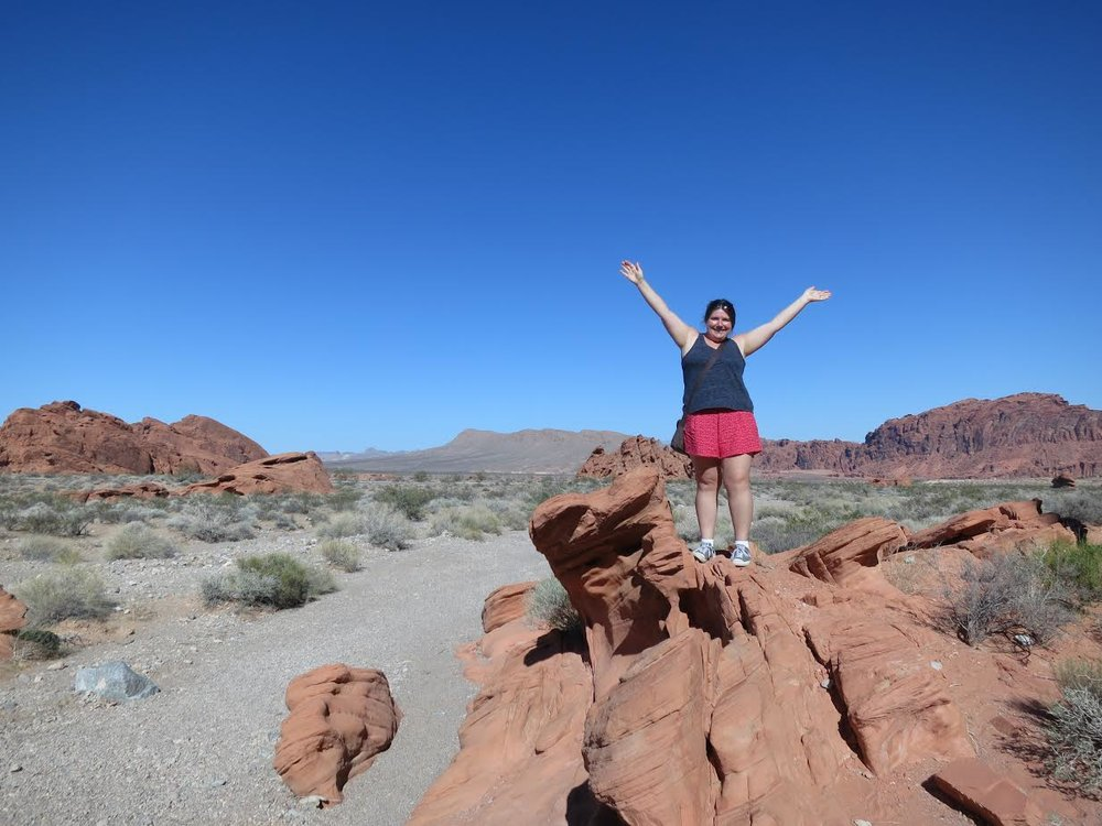 Ange Fuller - Valley of Fire State Park - Las Vegas