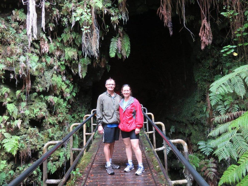 Lisa Berry - NCL Pride of America - Hawaiian Cruise (Pictured: Big Island - entrance to the Thurston Lava Tube)