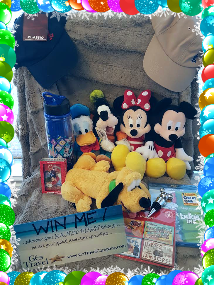 WIN ME!!!  Authentic Disney Merchandise giveaway!