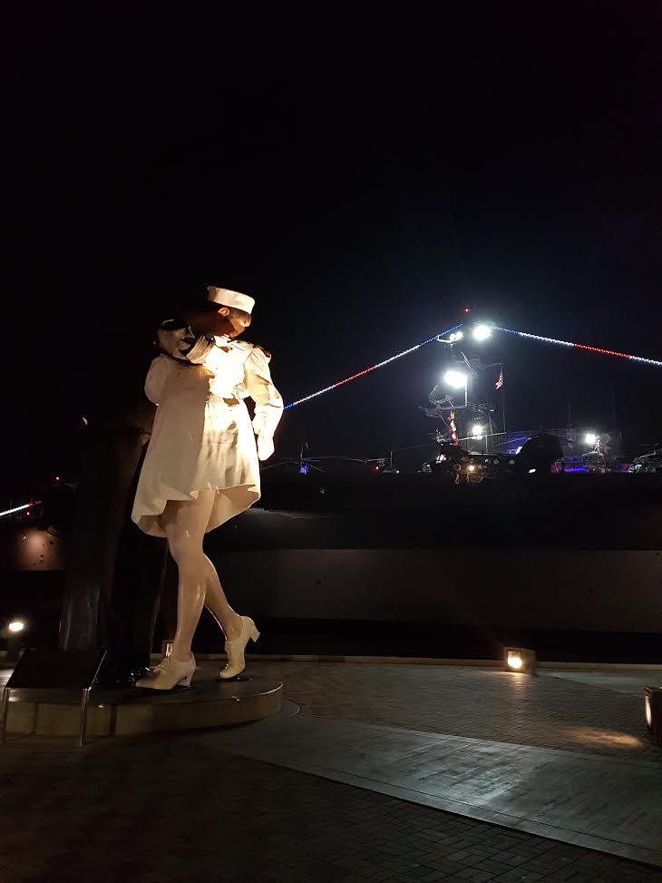 Michelle Gammond - USS Midway, San Diego CA