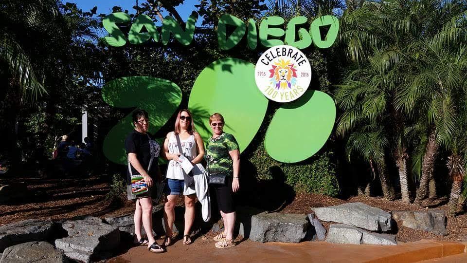 Kathy Bent, Michelle Gammond, Gloria Langille - San Diego Zoo