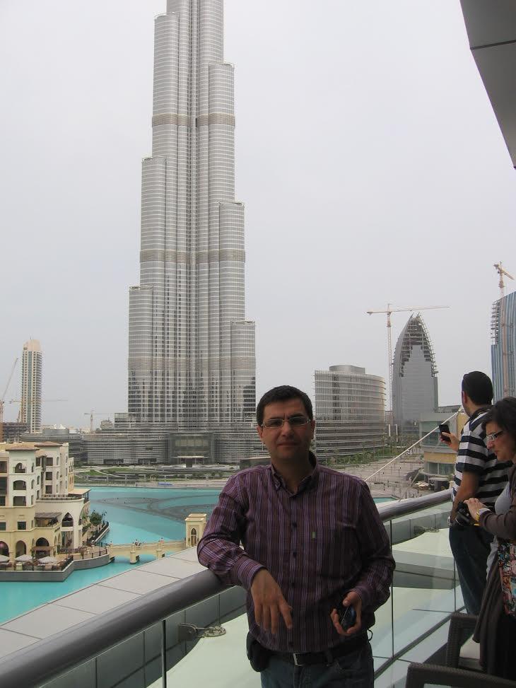 Adel Bittar -   Khalefa Tower, Dubai