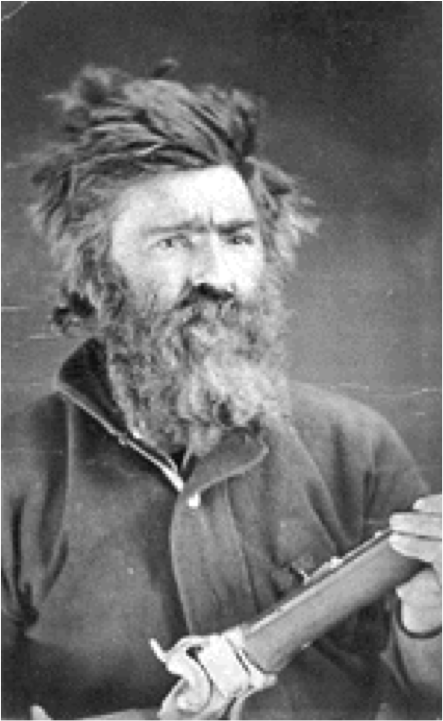 "John Johnston, aka ""Crow Killer"" and ""Liver-Eating"" Johnson, c. 1822-1900."