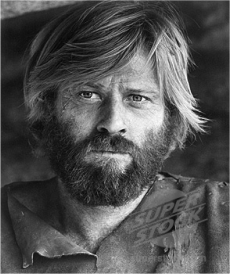 Robert Redford as title character in the film Jeremiah Johnson, based on the biography of John Johnston titled Crow Killer:  The Saga of Liver-Eating Johnson