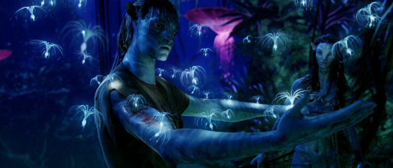 Image depicting interconnectivity of all life from 2009 film Avatar