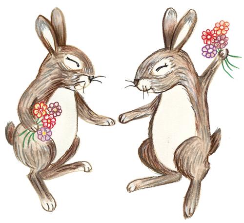 lizmunroart_bunniesJoy