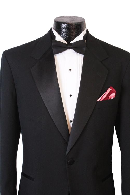 Classic Black Tuxedo — BIB \'N TUX Tampa Bay\'s Formal Wear ...