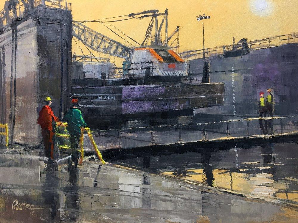Dry Dock 16 x 20