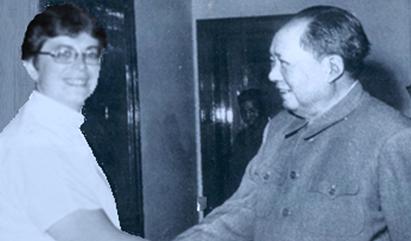 Marie Rivarola & Mao Tse Tung