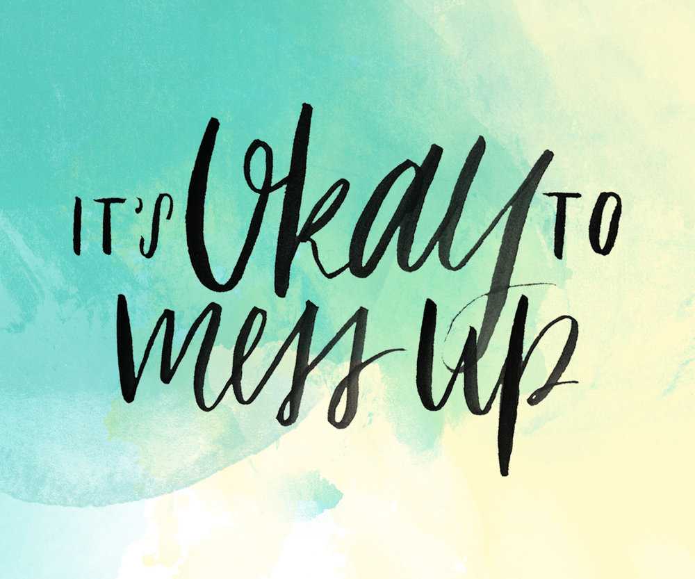 Strategies to overcome fear: #3 It's okay to mess up • Adventure & the Wild