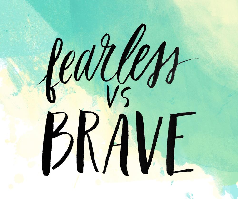 Fearless vs. Brave | Adventure & the Wild