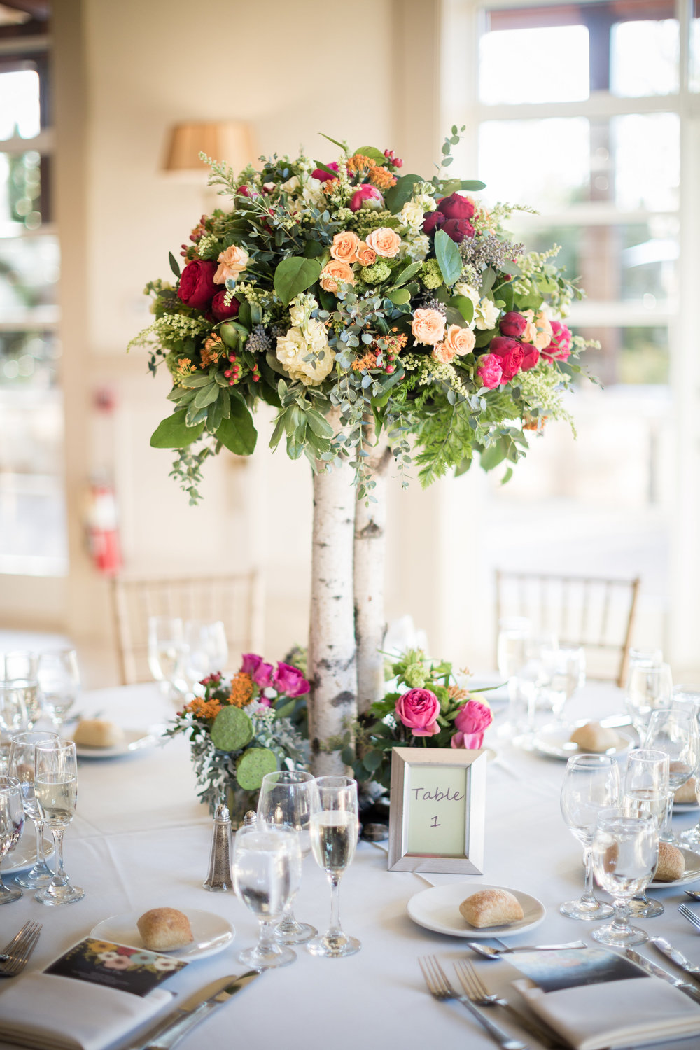 Colorful Organic Chic JampM Floral And Event