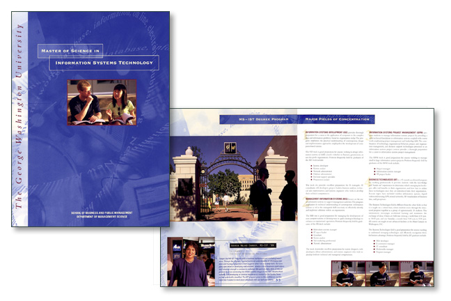 George Washington University Brochure