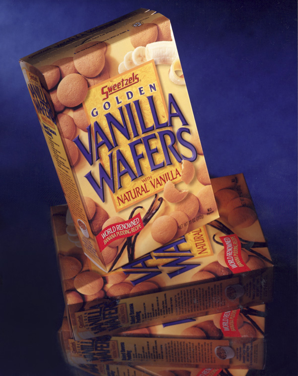 Sweetzels Corporation Vanilla Wafers Packaging