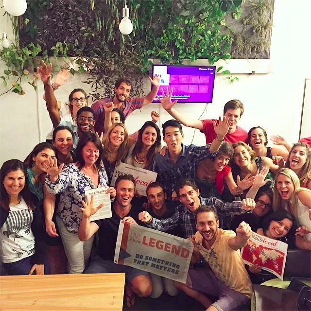 "Live Your Legend Local, Buenos Aires, Argentina – January 15, 2015. ""Amazing group of visionaries, entreprenuers, and most of all – supportive community!"""