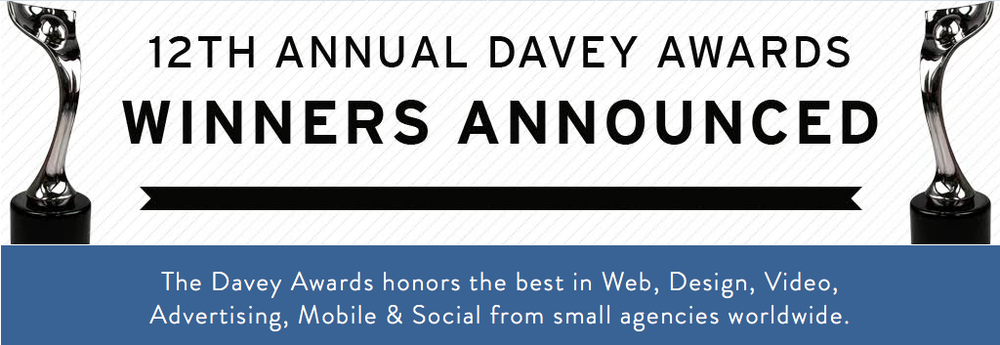 Want to learn more about The Davey Awards or enter next year? Click the photo to visit the website as well as see the other prestigious and talented winners!