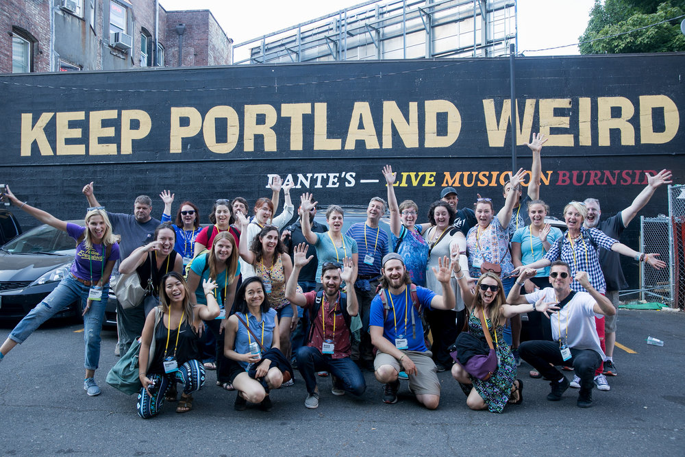 This sentiment and photo captures some of the magic of this highly creative and diverse city.