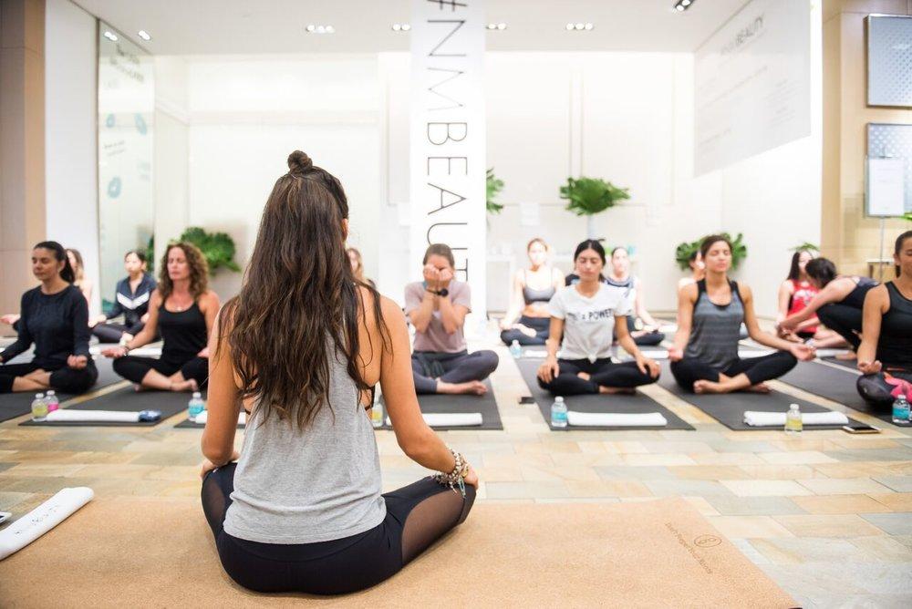 Neiman Marcus In-Store Wellness Event