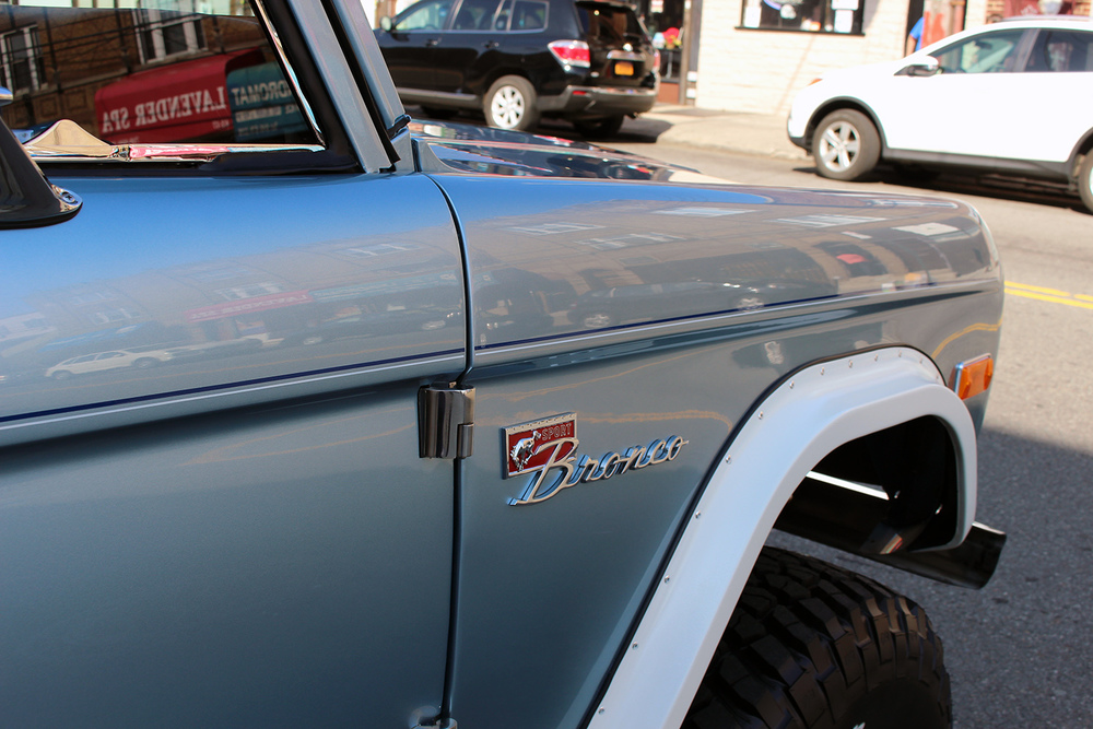 Ford Bronco Detail