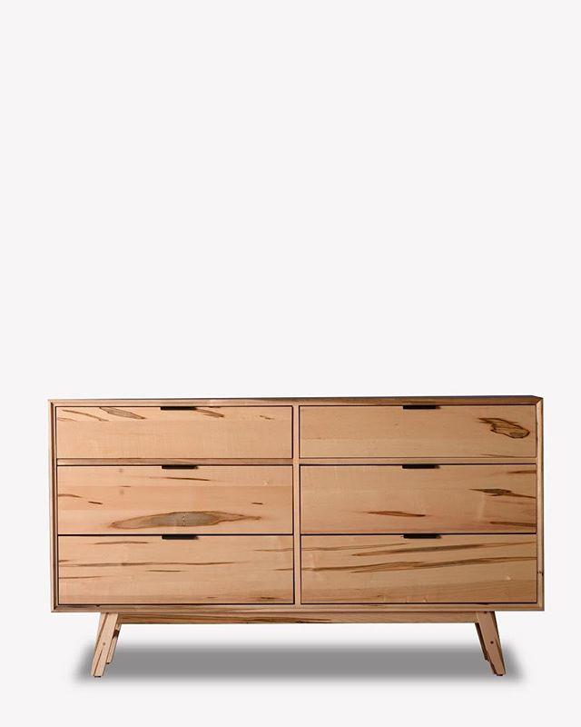 "The ""Berlin"" dresser. Wormy maple with a clear finish 😍✌🏻 #furniture #modern #interiordesign #interior #toronto #dresser #bedroom #bedroomdecor #highboy #walnut #maple #livingroom #teak #modern #guelph #midcenturymodern #midcenturymodernfurniture #retro #minimalism #minimalist #design #ontario #hamilton #vintage"