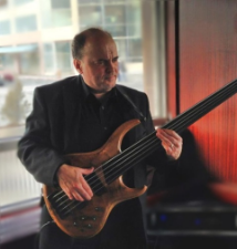 Bob Andrews is a bass player for Northern Lights Jazz.