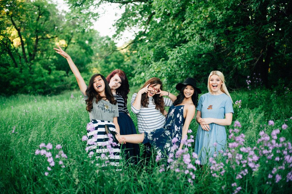 Me with my Senior Storyteller girls last summer!