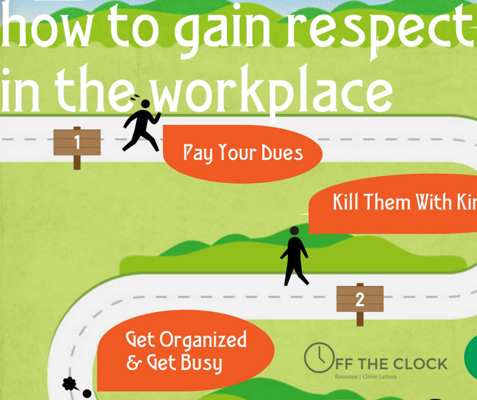 How To Gain Respect In The Workplace | Off The Clock Resumes