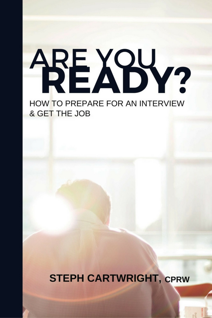 Are You Ready? How To Prepare For An Interview & Get the Job is now available for purchase on Amazon Prime and Kindle | Off The Clock Resumes