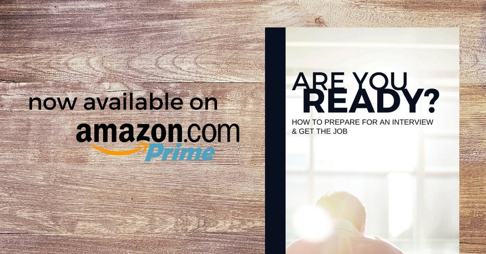 Purchase our interview guide on Amazon today!