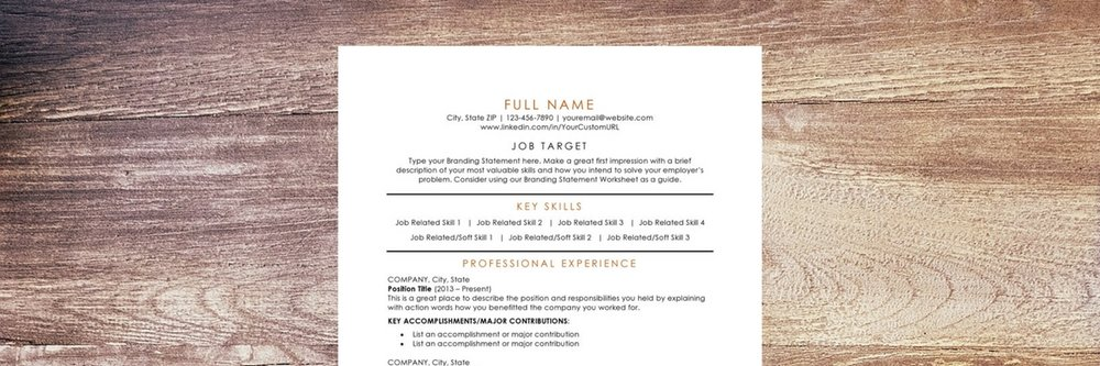 Download our free resume template today