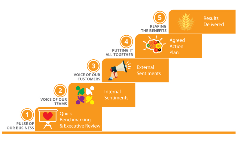 The OneTEAM Method rolls out in five discreet Steps to lift sales revenue, customer experience and staff engagement