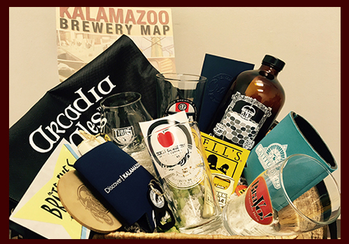 Kalamazoo Craft Beer Gift Basket from The Kalamazoo House