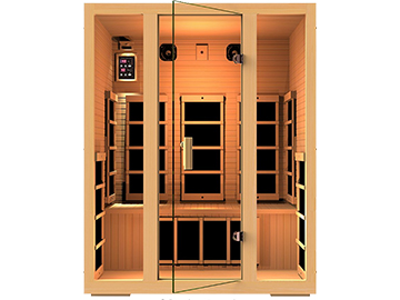 Relax in the infrared sauna