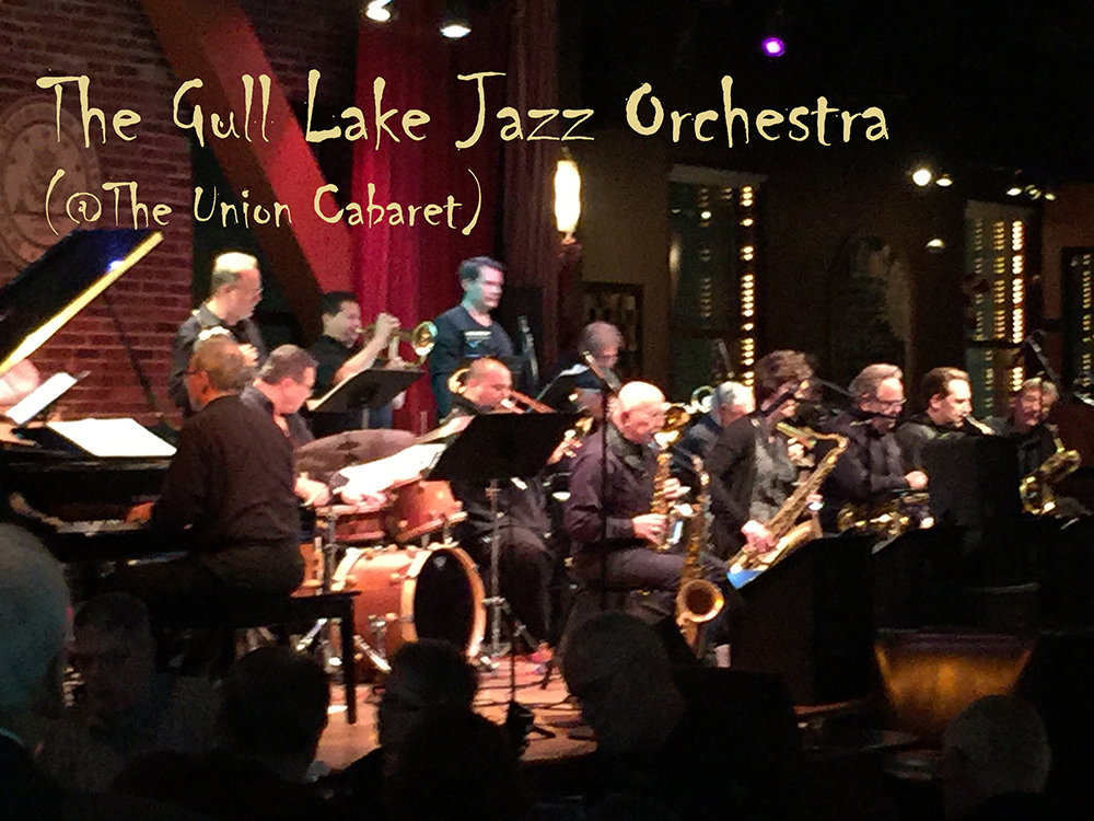 The Gull Lake Jazz Orchestra performs at The Union Cabaret