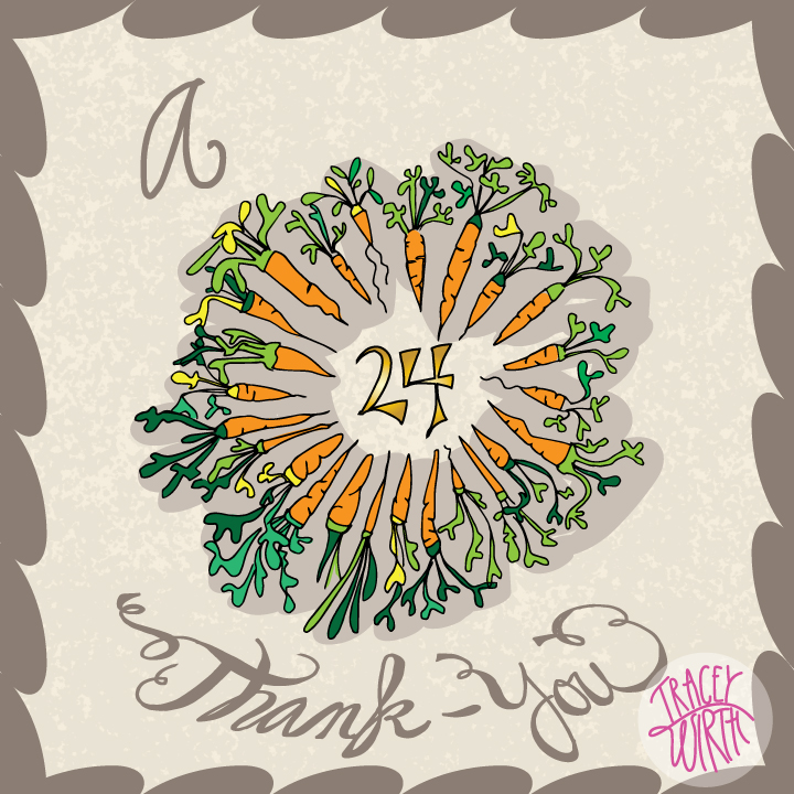 A 24 Carrot Thank You