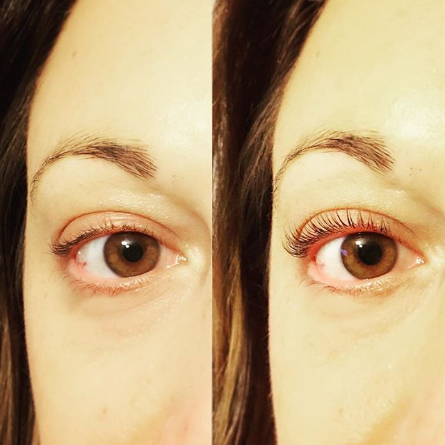 Lash Lift before & after - instant glamour! For appointment text Stephanie @315.236.2181 #keratinlift #lashlift #nyc #nycbeauty #holidaymakeup
