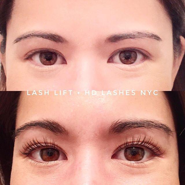 Eyes speak, lashes amplify • Lash Lift before and after 💃🏻💆🏻 🎉#lashliftnyc #happyholidays #hdlashesnyc #lashlift #holidayparty #holidaymakeup #lashes #nyc #beauty #ladiesnight